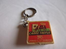 Porte-clef Fromage Carré De Trefle-lorraine - Sleutelhangers