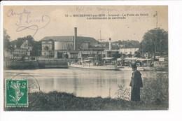Carte De  Rochefort Sur Mer Arsenal La Porte Du Soleil Les Bâtiments De Servitude ( Bateau )  ( Recto Verso ) - Rochefort