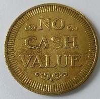 Jeton - NO CASH VALUE - Jeton D'automate - - Autres