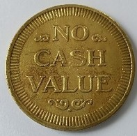 Jeton - NO CASH VALUE - Jeton D'automate - - Other