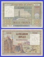 Marocco 1000  Francs 1953 - REPLICA --  REPRODUCTION - Maroc