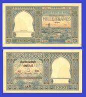 Marocco 1000 Francs 1945 - REPLICA --  REPRODUCTION - Maroc