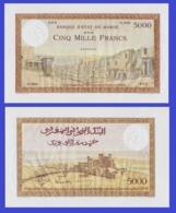 Marocco 5000  Francs 1938 - REPLICA --  REPRODUCTION - Maroc