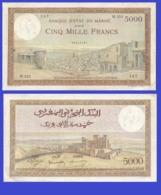 Marocco 5000  Francs 1950 - REPLICA --  REPRODUCTION - Maroc