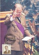 D34984 CARTE MAXIMUM CARD 1994 BELGIUM - KING ALBERT II CP ORIGINAL - Royal Families