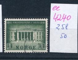 Norge Nr. 258 O     (ee4240  ) Aus Einer Spezial Sammlung ! - Gebraucht
