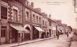 88Sv  44 Nort Sur Erdre La Basse Grande Rue Café Les Nantaises (vue Pas Courante) - Nort Sur Erdre