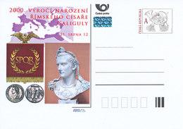 Rep. Ceca / Cart. Postali (Pre2012/49) 2000 Anniversario Della Nascita Dell'imperatore Romano Caligola (12-41) - Buste
