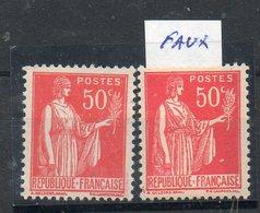 N°283 Faux De Barcelone** COTE 25 Euros Net 7 Euros - 1932-39 Paix