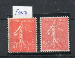 N°199 Faux De Barcelone** COTE 50 Euros Net 11 Euros - 1903-60 Sower - Ligned