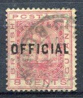 Guayana     Servicio  Nº 10    Usado-382 - Brits-Guiana (...-1966)