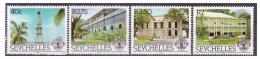 Seychelles 1983 - MNH ** - Bâtiments - Phares - Michel Nr. 531-534 Série Complète (sey067) - Seychelles (1976-...)