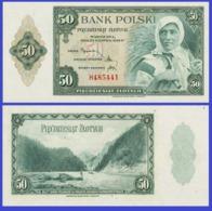 Poland  50 Zlotych  1939  - REPLICA --  REPRODUCTION - Polen