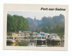 PORT SUR SAONE Le Port Bateaux Peniches - Frankreich