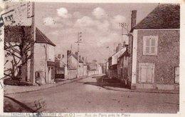88Sv  78 Tremblay Sur Mauldre Rue De Paris Prés La Place - Frankreich