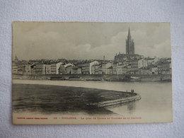 31 - CPA - TOULOUSE - LE QUAI DE TOUNIS ET CLOCHER DE LA DALBADE - TIMBREE 1909 - R15307 - Toulouse