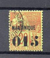 !!! PRIX FIXE : MARTINIQUE, N°6 OBLITERE - Martinique (1886-1947)