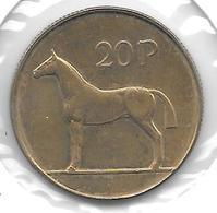 *ireland  20 Pence    1995   Km 25  Xf+ - Irlande