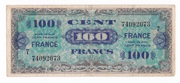 Billet De 100 Anciens Francs Français Type 1944 Américain Avec Mention France Au Verso. Série 7 74092073 - 1871-1952 Gedurende De XXste In Omloop