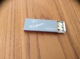 "Boîte D'allumettes SEITA ""Le Clafoutis RESTAURANT - St-Sylvain-d'Ajou (49)"" - Boites D'allumettes"