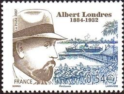 France N° 4027 ** Albert Londres - Ecrivain Et Journaliste - Unused Stamps