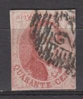 BELGIE 1858   OBP  12  Used,see Scan      [1831  ] - 1858-1862 Medaillen (9/12)