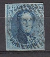 BELGIE 1861   OBP  11  ,used,see Scan      [1835  ] - 1858-1862 Medaillen (9/12)