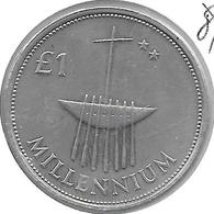 *ireland  1 Pound    2000   Km 31  Bu - Ireland