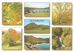 Couleurs D'Automne En Auvergne - Multivues (7) : Lac De Guéry, Puy De Dôme, Lac Pavin... - éd. Du LYS N° 1473 (écrite) - Auvergne