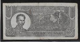 Viêt-Nam - Giay Bac - 5 Döng - 1948 - Pick N°17 - TB - Vietnam