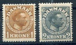 DINAMARCA   Nº 82 Y 83    Charnela -390 - Unused Stamps
