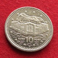 Gibraltar 10 Pence 1999 KM# 776  Gibilterra - Gibraltar