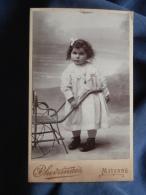 Photo CDV Chevrinais à Mayenne - Fillette, Marie Dauphin En 1910 L389F - Photos