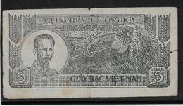 Viêt-Nam - Giay Bac - 5 Döng - 1948 - Pick N°17 - TB - Viêt-Nam