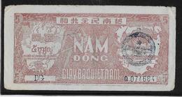 Viêt-Nam - Giay Bac - 5 Döng - 1948 - Pick N°17 Avec Cachet - SUP - Viêt-Nam