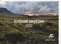 Fre392 Freecard Promotional Travel Tourism Iceland Islanda Paesaggio Natura Aurora Boreale Northern Lights - Islanda