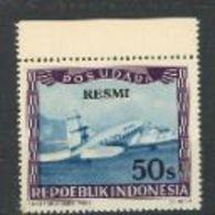 Indonésie Nobel Red Cross Croix Rouge Plane Avion  Surcharge RESMI MNH - Prix Nobel