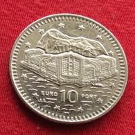 Gibraltar 10 Pence 2003  KM# 776  Gibilterra - Gibraltar