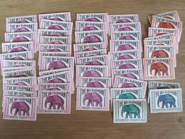 Lot De  49   Bon Points BON-POINT   The De  L ELEPHANT - Autres