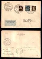 POSTA AEREA  - 1935 (29 Luglio) - Roma Parigi Rotterdam (3296 Nota) - 10 Volati - Francobolli