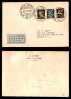 POSTA AEREA  - 1935 (29 Luglio) - Roma Parigi Londra (3296 Nota) - 5 Volati - Francobolli