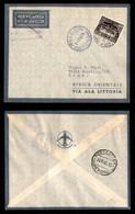POSTA AEREA  - 1935 (14 Novembre) - Roma Littorio Roma (3343) - 15 Volati - Francobolli