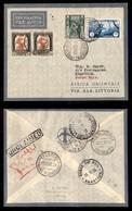 POSTA AEREA  - 1935 (16 Novembre) - Tripoli Khartoum (3346) - 21 Volati - Francobolli