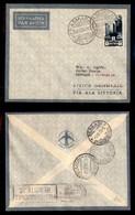 POSTA AEREA  - 1935 (26 Novembre) - Asmara Bengasi (3357) - 10 Volati - Francobolli