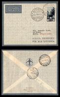 POSTA AEREA  - 1935 (26 Novembre) - Asmara Sirte (3358) - 10 Volati - Francobolli