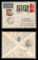 POSTA AEREA  - 1935 (26 Novembre) - Sirte Cairo (3361) - 20 Volati - Francobolli
