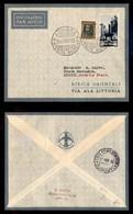 POSTA AEREA  - 1935 (26 Novembre) - Asmara Djibouti (3365) - 10 Volati - Francobolli