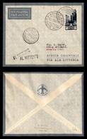 POSTA AEREA  - 1935 (26 Novembre) - Asmara Rocca Littorio (3367) - 10 Volati - Francobolli
