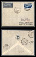 POSTA AEREA  - 1935 (3 Dicembre) - Tripoli Assuan (3440) - 10 Volati - Francobolli