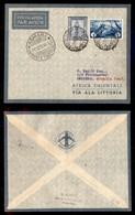 POSTA AEREA  - 1935 (3/4 Dicembre) - Tripoli Berbera (3449) - Asmara 11.12.35 - 10 Volati - Francobolli